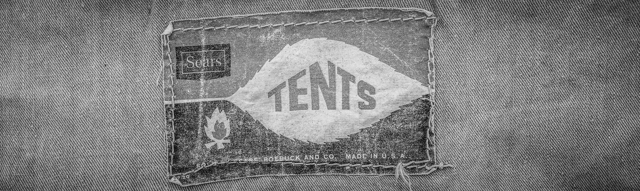 Sears Canvas Tent http://www.bethnchris.com/2013/03/24/new-vintage-sears-canvas-tent/